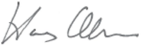 Harry Allen Signature