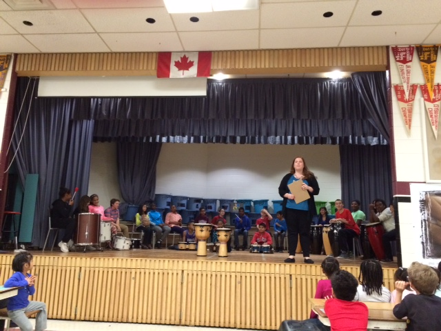 Joseph Brant PS at Jazz Performance and Education Centre in Toronto
