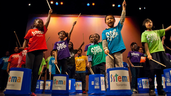 Sistema Kids at Jazz Performance and Education Centre in Toronto